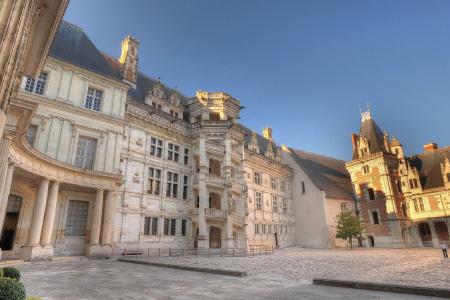 Cour du château de Blois