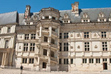 chateau de Blois-escalier