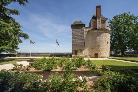 Blois-jardins du chateau