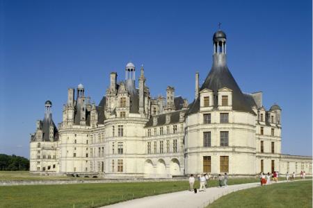 chateau de chambord-entree