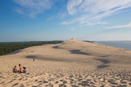 destination la Dune du Pyla près de Bordeaux