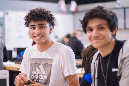 jeunes-étudiants FLE