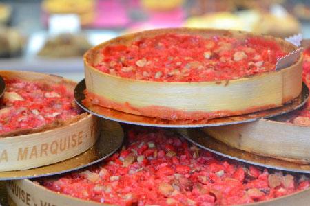 spécialité lyonnaise - tarte aux pralines