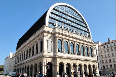 Dome de l'Opera de jean Nouvel à Lyon