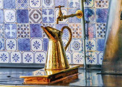 Maison de Monet à Giverny - intérieur