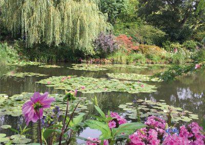 Maison de Monet à Giverny - jardin d'eau