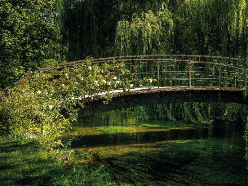 Maison de Monet à Giverny - le pont japonnais