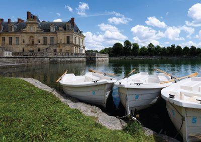 château de Fontainebleau et bassins
