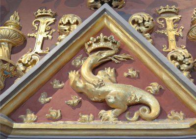 château de Fontainebleau - la salamandre