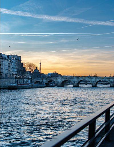 croisière sur la Seine à Paris