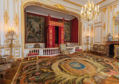 château de Chambord intérieur