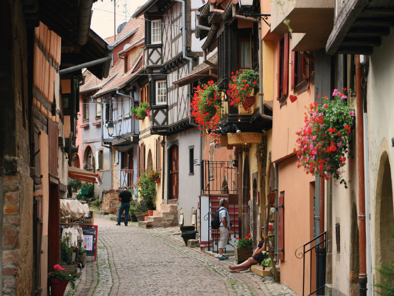 Alsace - village d'Egusheim