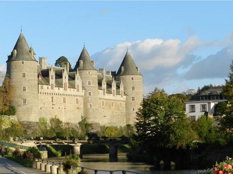 Chateau de Josselin, en bretagne