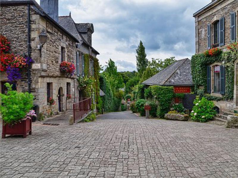 village breton - Rochefort en terre