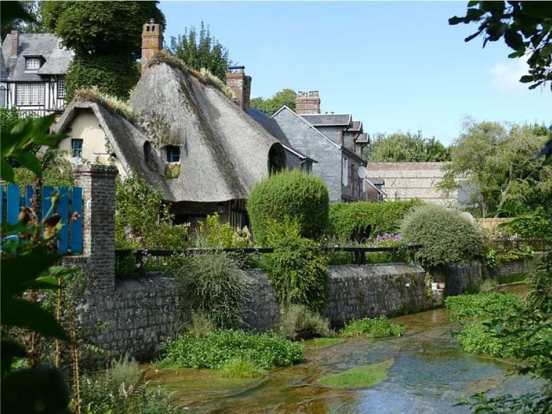 village breton - veules les roses