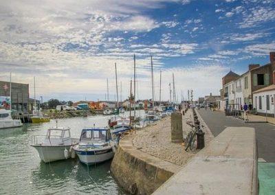 port sur l'ile de noirmoutier