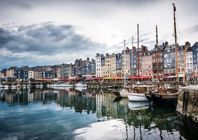 port de honfleur en Normandie