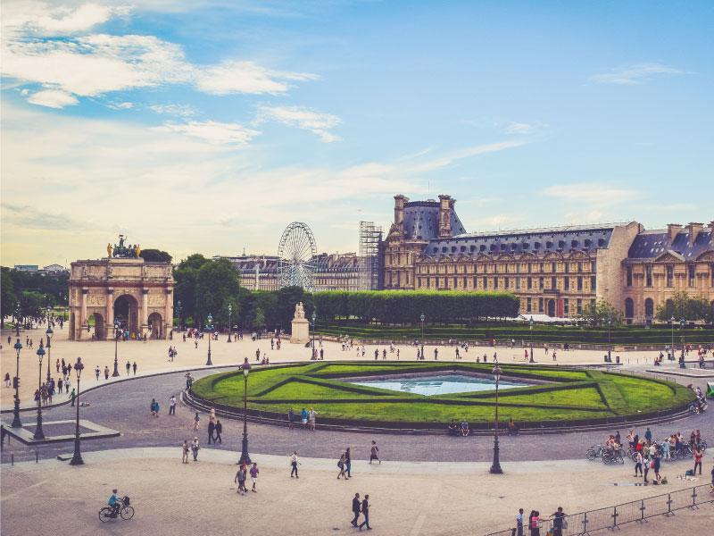 paris les Tuileries