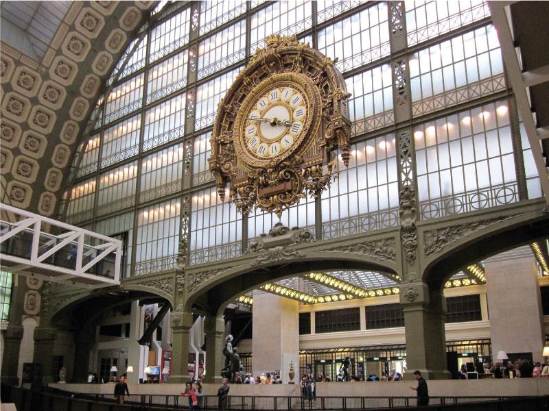 Horloge du musée d'Orsay à Paris