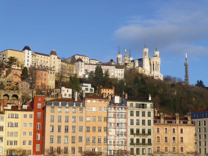 la Fourvière à Lyon