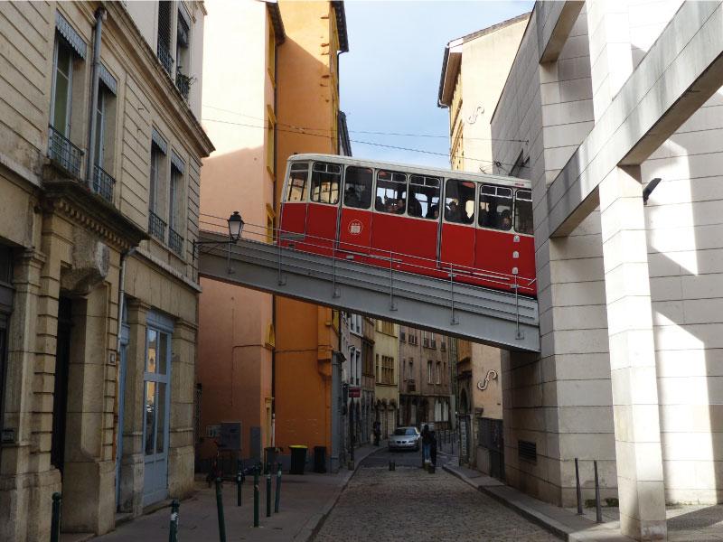 traboule, ville de Lyon