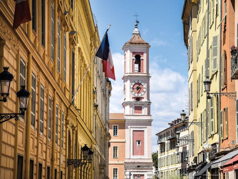Séjour linguistique à Nice - vue sur centre-ville