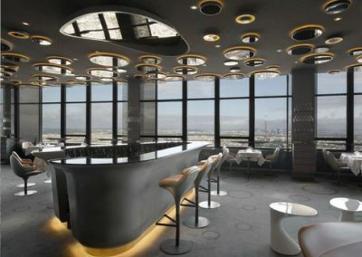 restaurant au 56e-etage de la Tour Montparnasse